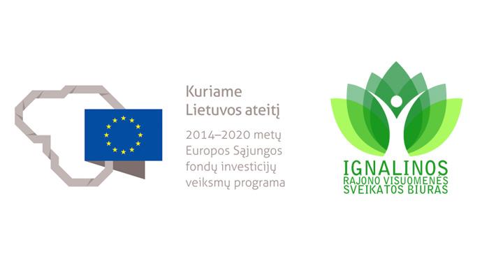"""Pasirašyta sutartis su Europos socialinio fondo agentūra dėl projekto """"Sveikos gyvensenos skatinimas Ignalinos rajone"""" įgyvendinimo"""