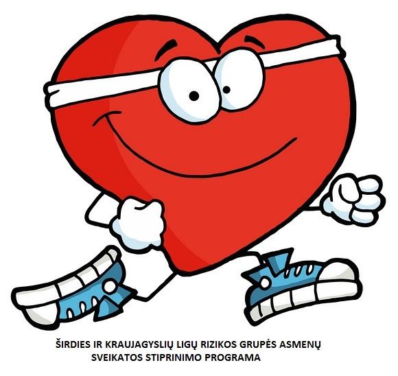 Kviečiame dalyvauti  širdies ir kraujagyslių ligų ir  cukrinio diabeto rizikos grupės asmenų sveikatos stiprinimo programoje