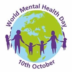 Spalio 10-ąją minime Pasaulinę psichikos sveikatos dieną, skirtą vaikų ir jaunimo psichikos sveikatai.