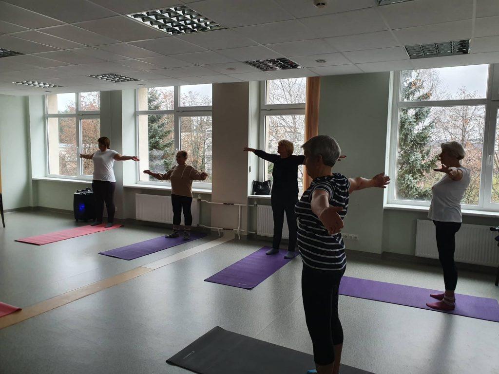Nuo š.m lapkričio 5 d. Ignalinos rajono savivaldybės visuomenės sveikatos biure startavo mankštos.