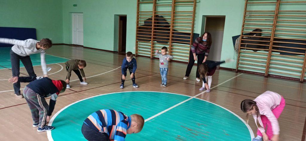 """Didžiasalio """"Ryto"""" gimnazijos Naujojo Daugėliškio skyriuje vyko: """"Judumo savaitė"""""""