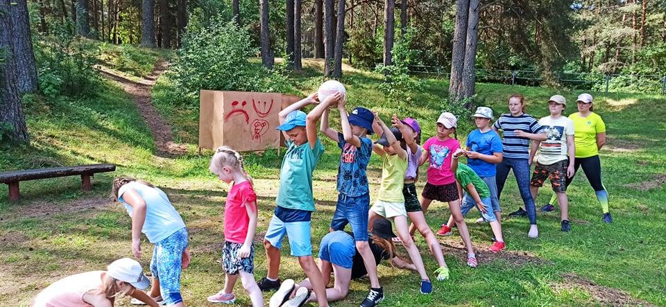 Trečios pamainos vaikų stovyklos akimirkos